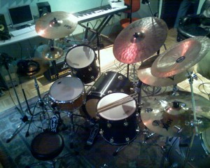 Drum Session At Play Studios Nyc