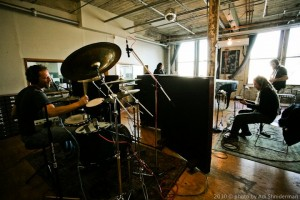 Drum Session At Vibromonk Studios Nyc