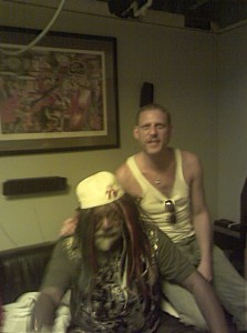 Glenn With George Clinton_Session