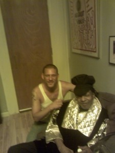 Glenn With Sly Stone_Session
