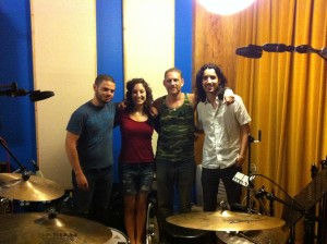 Tracking Drums With Ziv Shalev, Anat Nir And Yoed Nir At Seaside Lounge Studio Brooklyn